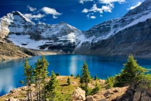 Bergmeer in Canada