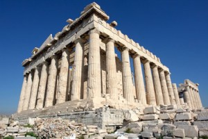 De Parthenon, in Athene