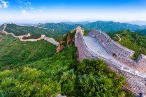 Chinese muur tijdens een familiereis china